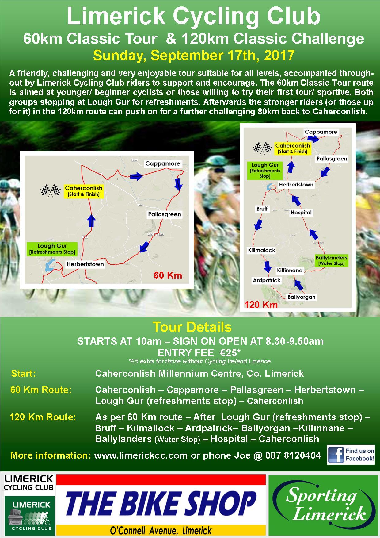 Limerick Classic Tour & Challenge